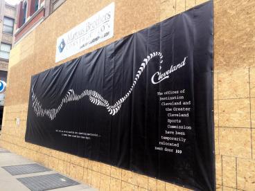 Destination Cleveland: Vinyl Banner