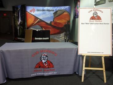 Von Hansen's Meat Market Event Set-up Tempe-Chandler Arizona