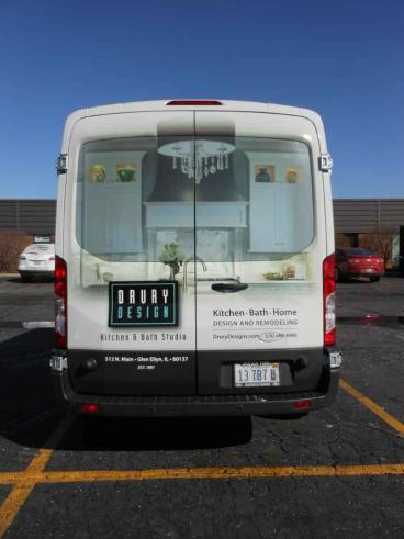 Van Wrap - Drury Design, Glen Ellyn