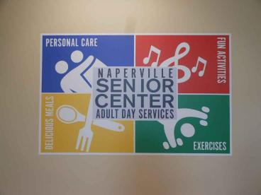 Wall Mural - Naperville Senior Center