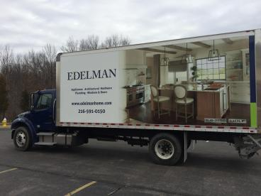 Edelman Home Box Truck Wrap