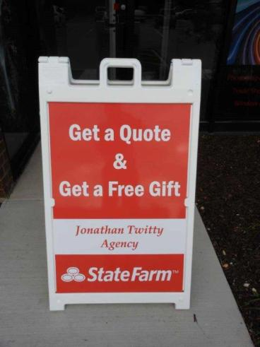 A-Frame Sign - State Farm - Downers Grove