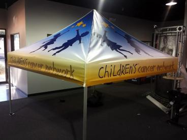 Children's Cancer Network Canopy Tent Tempe Chandler Arizona