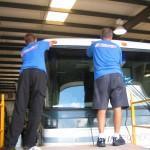 Installation of an RV windshield in Myrtle Beach SC