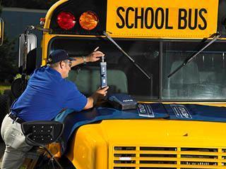 School Bus Windshield Repair