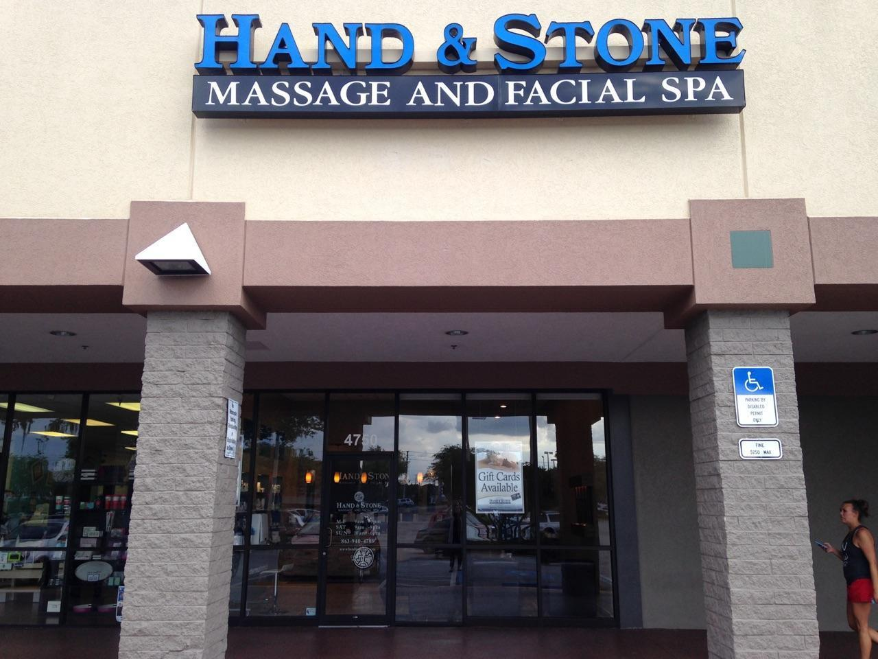 Hand and Stone Massage and Facial Spa Lakeland Florida