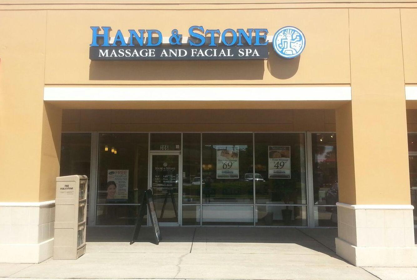 Hand and Stone Massage and Facial Spa. Palm Harbor, Florida.