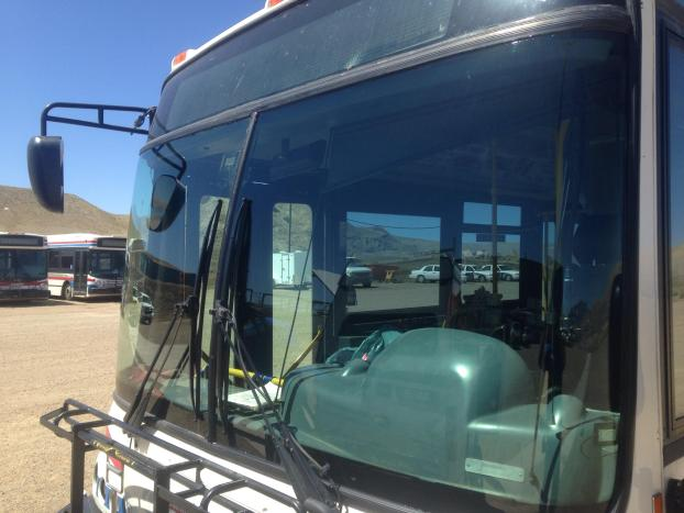 Bus and motor home windshields