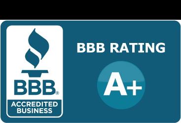Better Business Bureau A+ Rating Thumbnail