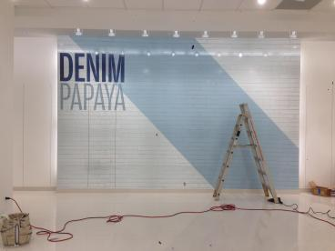 Wall Graphics Before Image