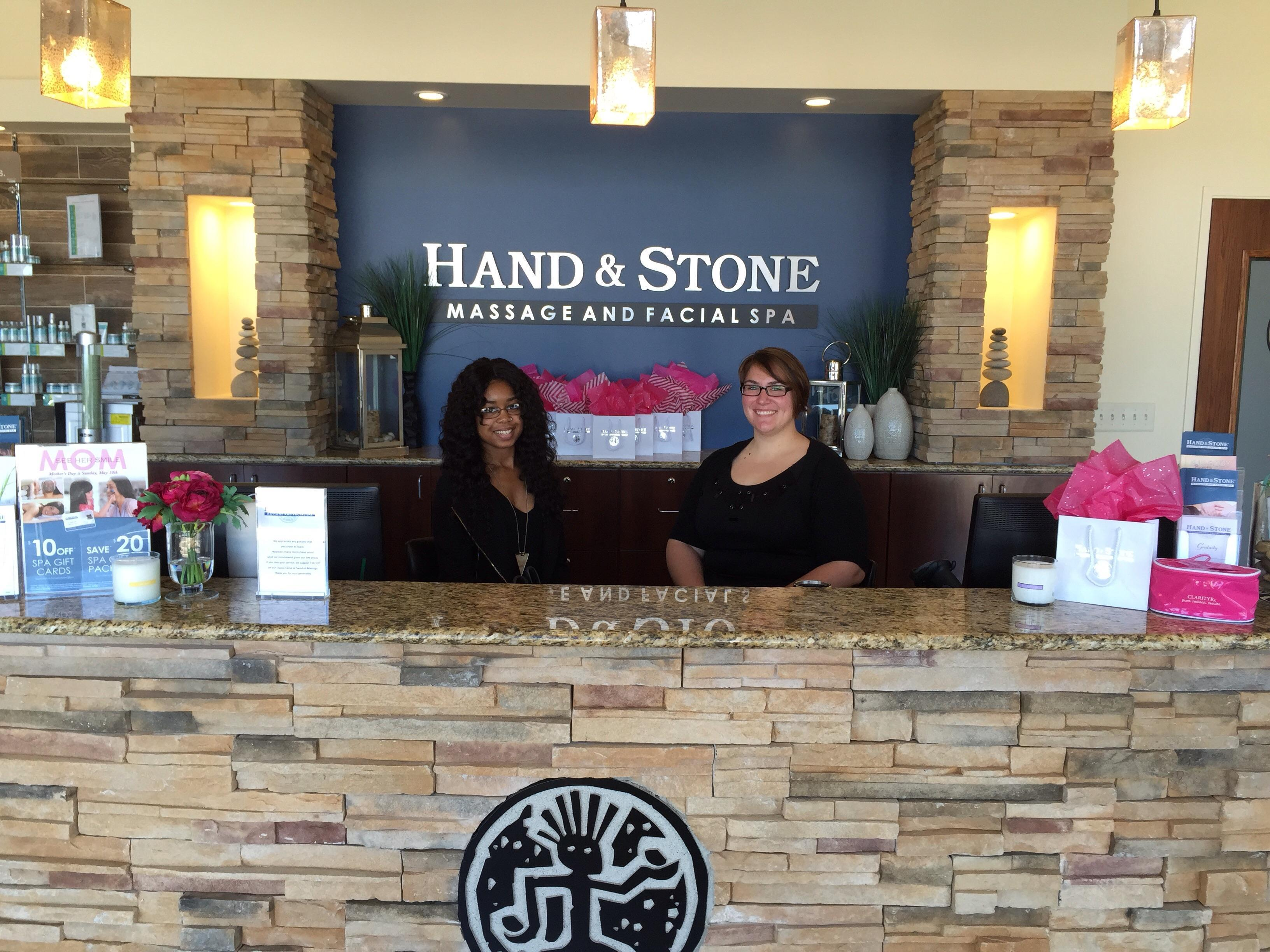 Spa Associates ready to book your next massage and facial at Hand and Stone in Plano, TX!