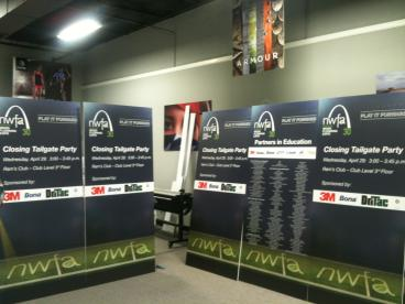 Large Mounted Graphic Signs for a #tradeshow
