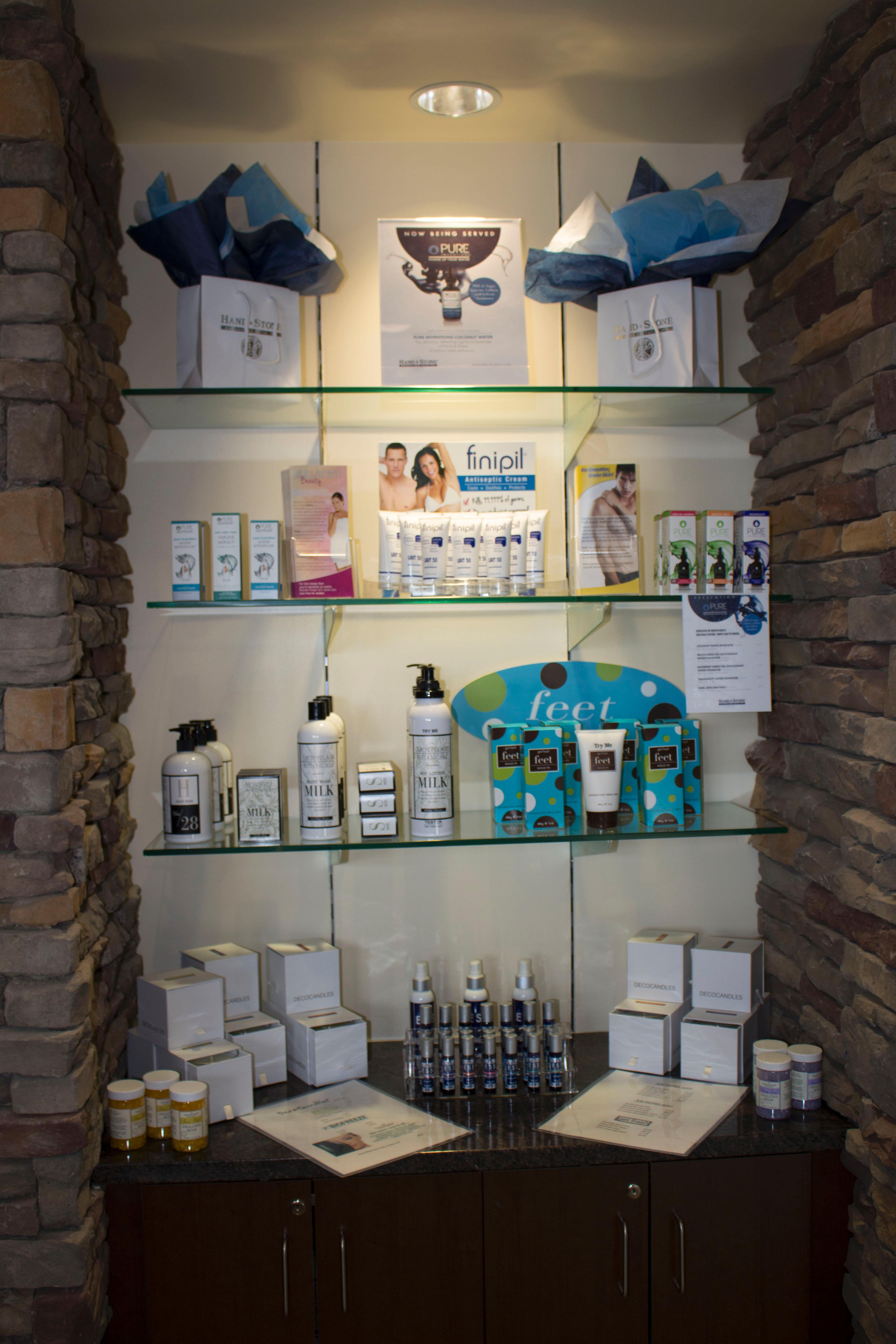 We carry only the finest brands for all your skin care needs.