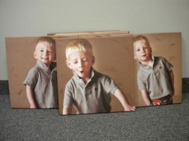 Canvas Photo Enlargement