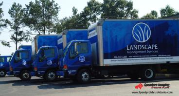 Commercial Fleet Wraps