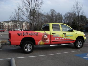 Homevestors South Richmond Truck Wrap