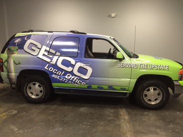 Geico, SpeedPro Greenville