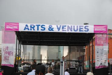 Denver', CO annual Five Points Jazz Fest Stage Banners