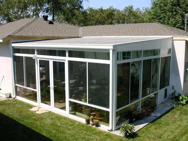 Four Season Sunroom Addition in Fullerton