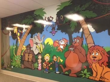 Rady Children's Wall Mural