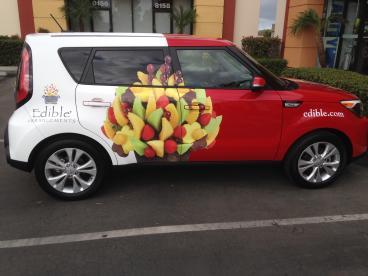 Edible Arrangements Vehicle Wrap