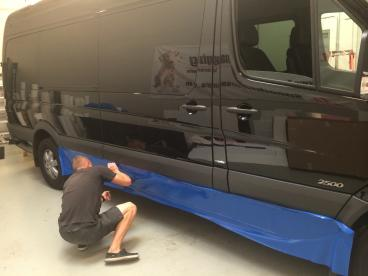 Sprinter Van Color Dip - Vehicle Wrap