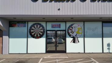 A-Z Darts Storefront Graphics
