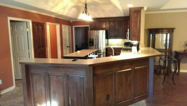 ... A Recent Custom Kitchen Cabinet Job In The Area ...