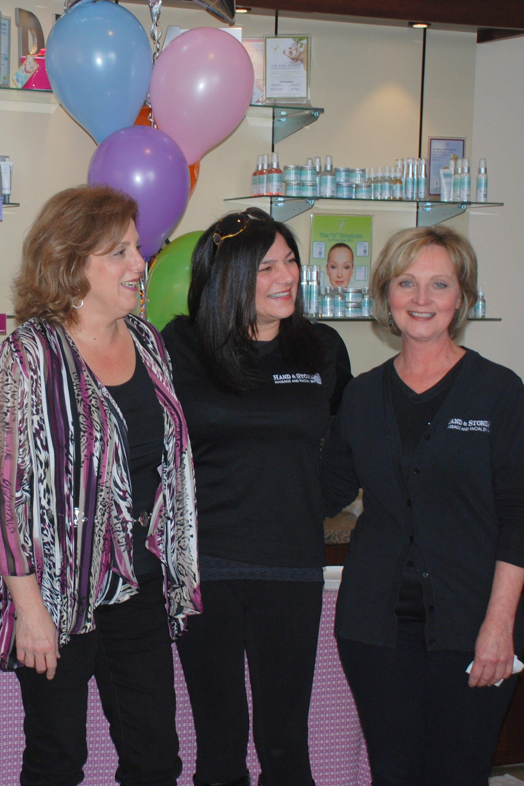 Massage and Esthetican Team Members
