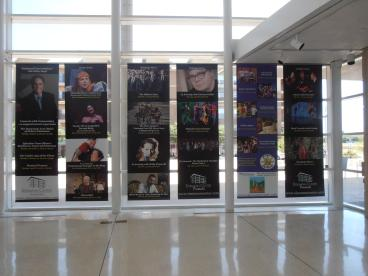 Eisemann Center Window Banners