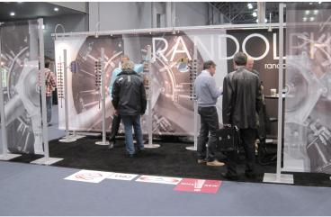 Randolph Engineering Trade Show Booth