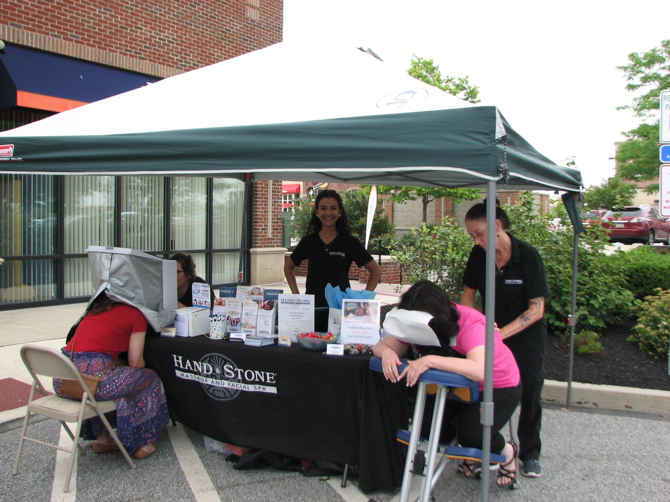 Providence Town Center Health Fair