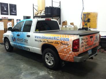 Ideal Air's New Truck