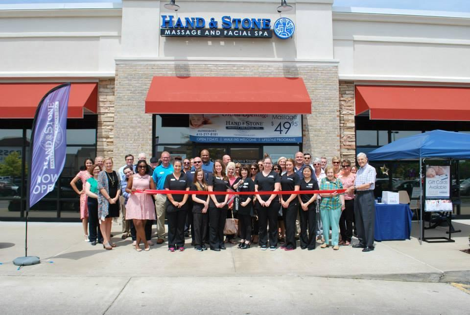 Our official Rutherford County Chamber Of Commerce Ribbon Cutting