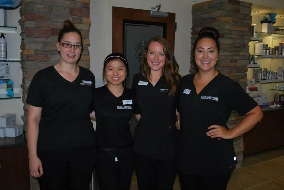 What a great team of Licensed Massage Therapists and Estheticians