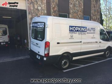 Hopkins Auto Vehicle Wrap