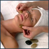 Try our Cold Stone Face Massage.