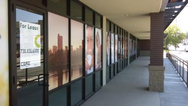 Highland Place: Window Graphics