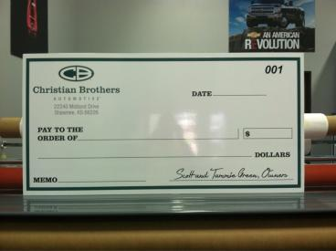 Big Checks