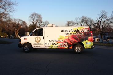 Full van wrap