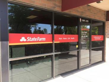 State Farm - Two Layer Window Graphics Tempe-Chandler Arizona