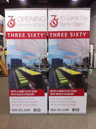 Bar 360 grand opening banners