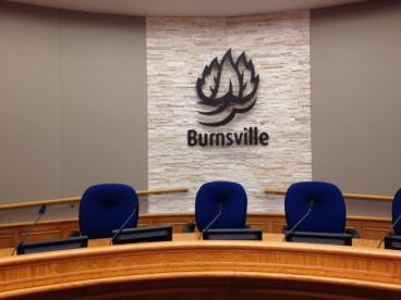 New Burnsville City Council Chamber Logo