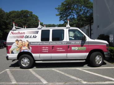 Needham Oil & Air Vehicle Wrap
