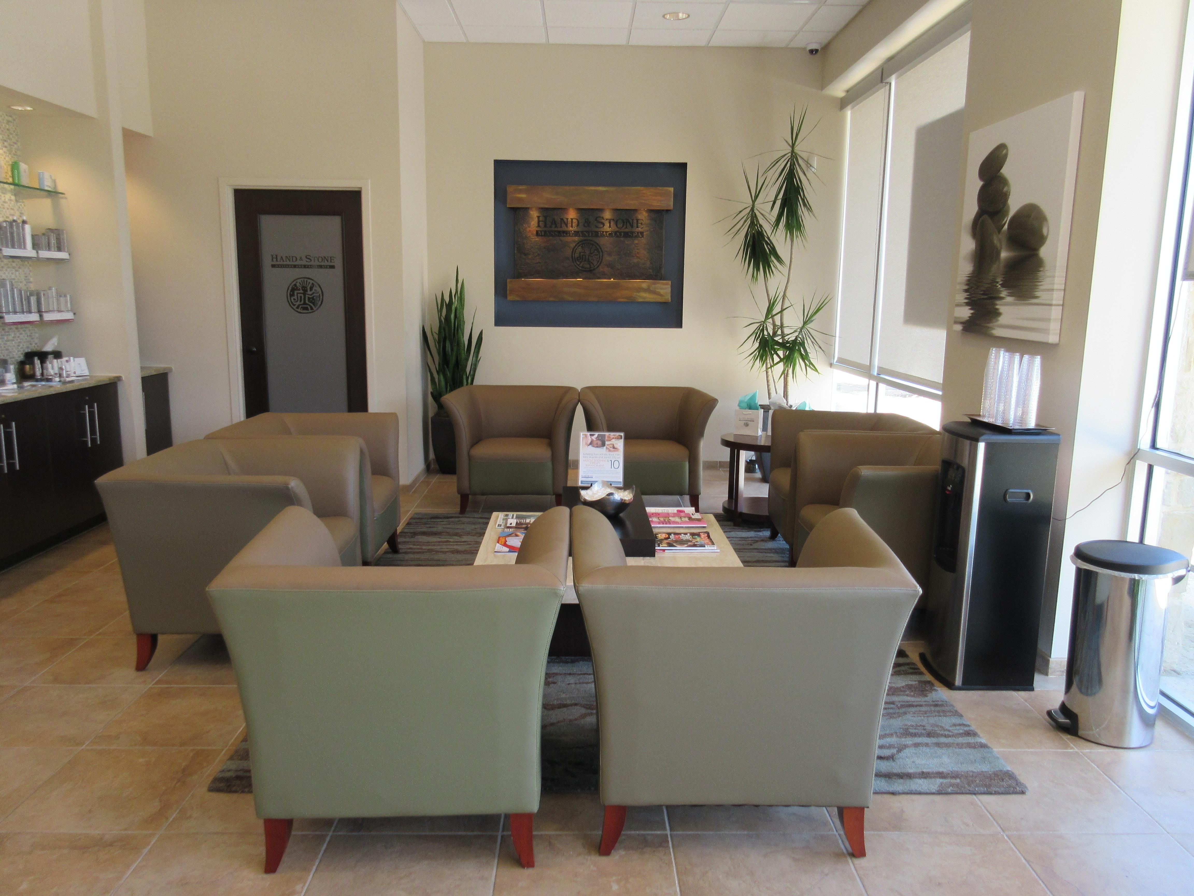 Our serene and quiet lobby