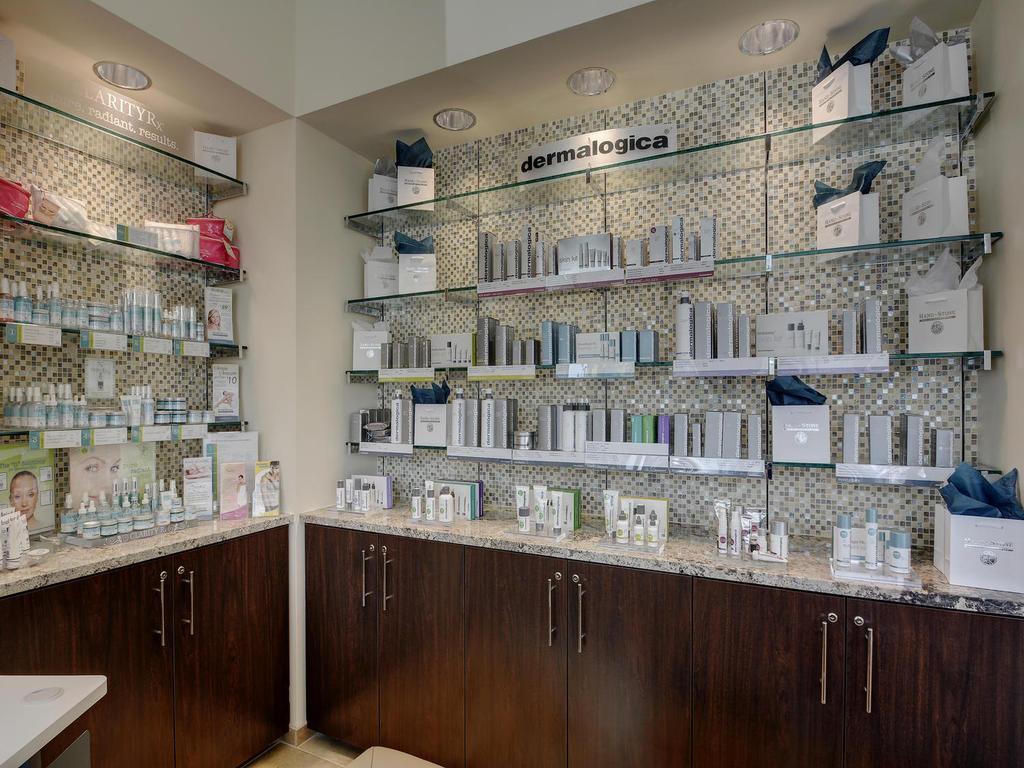 Skin Care Retail Area