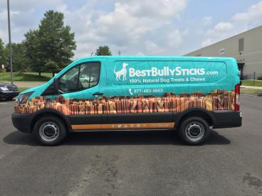 Best Bully Sticks Delivery Van