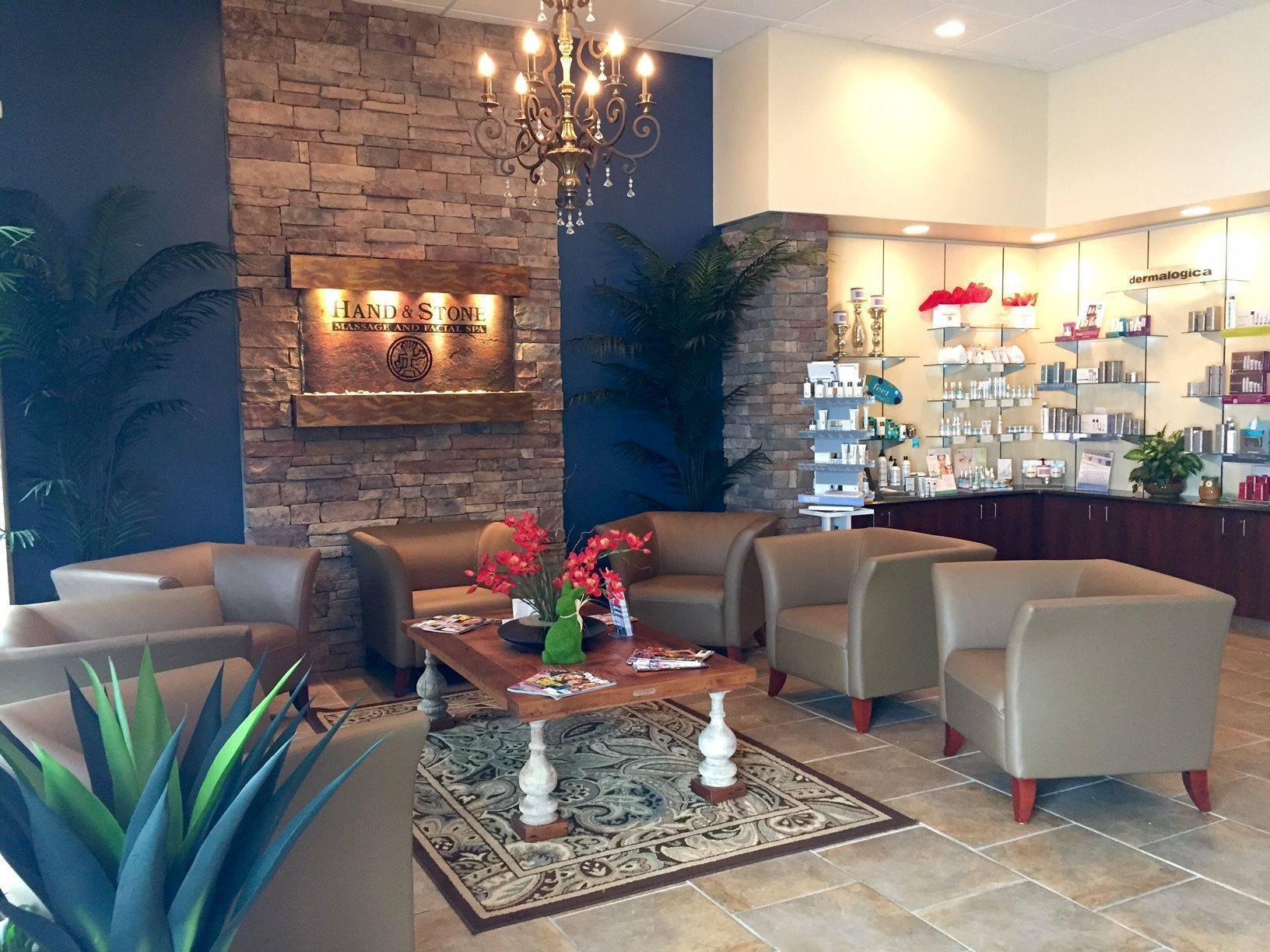 Hand & Stone Lobby