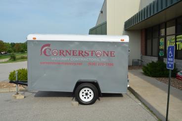 Cornerstone Masonry Trailer