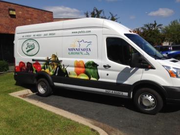 Pahl's Market Delivery Van